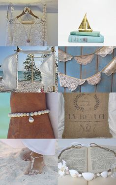 etsy beach wedding treasury beachcomber