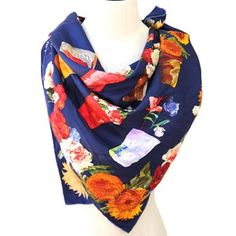 Gucci Silk Floral Scarf, $227, now featured on Fab.