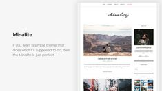 15+ Free Minimalist WordPress Themes and Templates for Blogs of 2020 Minimalist Wordpress Themes, Best Wordpress Themes, Wordpress Free, Templates, Blogging, Stencils, Vorlage, Models