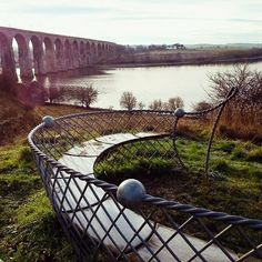 Looking over the River Tweed