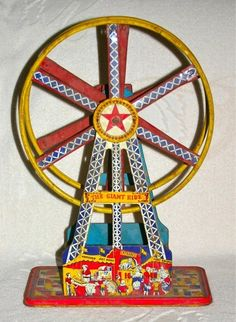 wind-up toy ferris wheel