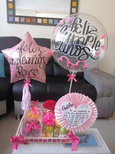 Flower Box Gift, Flower Boxes, Flowers, Ideas Para Fiestas, Wok, Presents, Breakfast, Birthday, Gifts