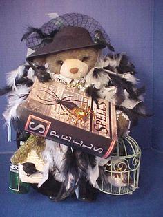 Apple Whimseys / Old Lady Witch Bear / Artist / Vintage