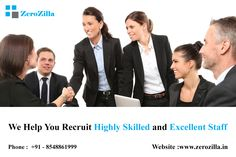 Manpower Service Provider  Website : www.zerozilla.in Phone : +91 - 8904742388