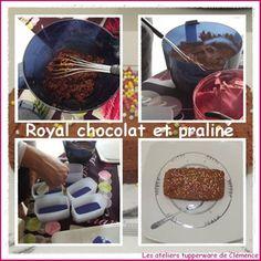 Royal chocolat et praliné