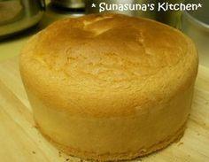 しっとりふわふわ☆簡単スポンジケーキ       材料たった3つ♪アメリカのケーキ粉で作るとてもきめ細かなスポンジ。