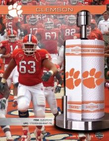 www.gametowels.com Clemson Tigers paper towels!  A tailgating must have!
