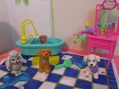 Littlest Pet Shop - Splash Happy Puppies