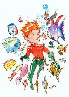 Aquaman by Dustin Nguyen
