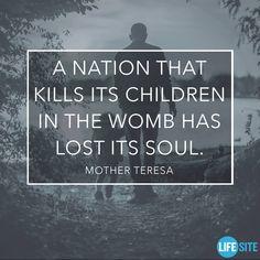 Mother Teresa .