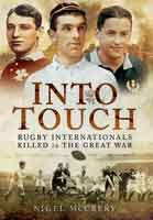 Rugby Internationals Killed in the Great War -  Among the million plus British and Empire soldiers that fell in the slaughter of The Great War were an elite band of International Rugby players. Tragically, over 130 'caps' from England, Scotland, Wales, Ireland, Australia, New Zealand and South Africa – and France - lost their lives on land, in the air and at sea. Even their legendary strength, fitness and courage were not enough to spare and save them #WW1