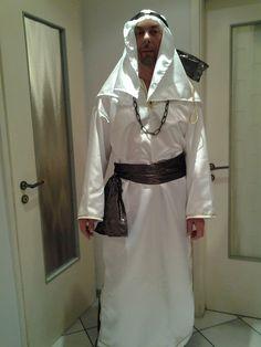 Costume da sceicco di Fabio