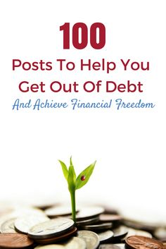 Get out of debt. Achieve financial freedom. Increase your income. Think smarter about your money. These are the top 100 blogs posts to help.