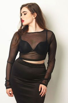 plus size outfits for work womens clothes Curvy Girl Outfits, Curvy Girl Fashion, Look Fashion, Plus Size Outfits, Plus Size Fashion, Casual Outfits, Fashion Outfits, Womens Fashion, Fashion Art