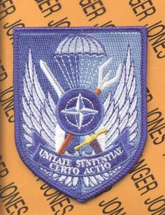 US Army Special Operations Detachment NATO Airborne Patch   eBay