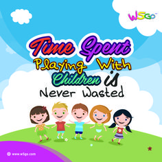 Time spent playing with children is never wasted. ---Upload application W5GO to App Store or Google Play--- https://cstu.io/6acd20