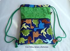 Considering A Hammock Tent For Your Camping Needs Birthday Giveaways For Kids, Easy Diy Projects, Projects For Kids, Sewing Hacks, Sewing Projects, Sewing Case, Dinosaur Party, Kids Backpacks, Tote Bag