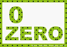 Blog Professor Zezinho : Números de 0 a 10