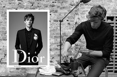 Dior Homme has unveiled its Spring/Summer 2016 still campaign starring The xx's bass player and co-vocalistOliver Simandartist Rinus Van de Velde.