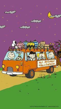 A Charlie Brown Halloween 🎃 Snoopy Halloween, Halloween Cartoons, Charlie Brown Halloween, Great Pumpkin Charlie Brown, Charlie Brown And Snoopy, Halloween Art, Happy Halloween, Halloween Night, Snoopy Christmas