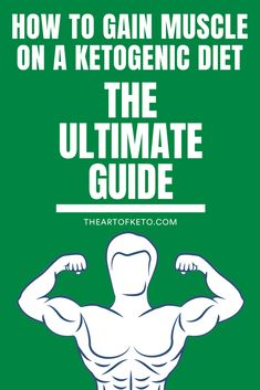 How to gain muscle on a keto diet. Learn the art and science to build muscle, lo… How to gain muscle on a keto diet. Learn the art and science to build muscle, lose fat, and feel great on a low carb ketogenic diet. Diet Plan Menu, Keto Meal Plan, Diet Plans, Vegan Keto, Vegetarian Keto, Gain Muscle, Build Muscle, Muscle Building, Muscle Tone