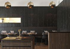 New restaurant in Aarhus, Denmark. By architect Sofie Ladefoged.