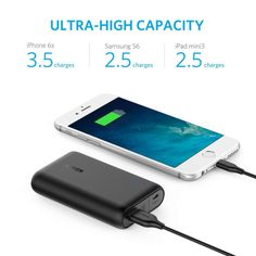 Today Deals 40% OFF Anker PowerCore Speed 10000 QC Qualcomm Quick Charge 3.0 Portable Charger with Power IQ | Amazon:   Today Deals 40% OFF Anker PowerCore Speed 10000 QC Qualcomm Quick Charge 3.0 Portable Charger with Power IQ Power Bank for Samsung iPhone iPad and More | Amazon #TodayDeals #DailyDeals #DealoftheDay -   The Anker Advantage: Join the 20 million powered by Americas leading USB charging brand. Charge Faster: Qualcomm Quick Charge 3.0 (24W) with Ankers proprietary PowerIQ and…