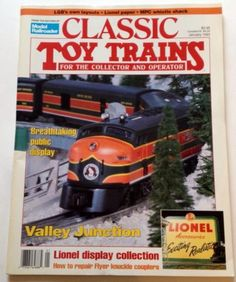 Classic Toy Trains Magazine January 1993 Lionel Vol 6 No 1 Valley Junction LGB