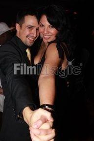 Sara Ramirez  com seu amigo,também ator da Broadway, Lin-Manuel Miranda