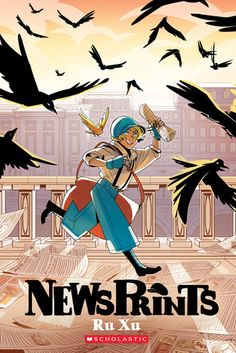 Blue the orphaned newsboy is secretly a newsgirl. While selling papers for the Bugle, she meets a mysterious inventor and an even more mysterious boy with an affinity for crows, who may be connected to the war currently affecting the country.