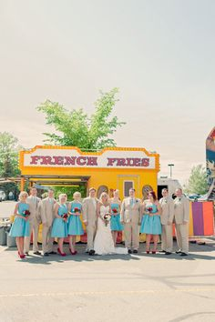 love wedding photos at the carnival