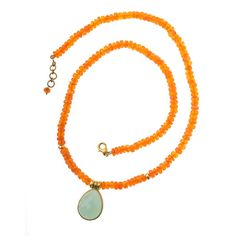 Vasant Chalcedony Necklace in Jewelry