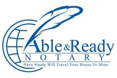 Able & Ready Notary Service