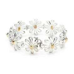 Cheap Tiffany & Co Unique Tiffany Chrysanthemum Links Bracelet For Sale