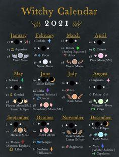Moon Calendar, Jar Spells, Love Spells, Wicca Holidays, Energy Healing Spirituality, Moon Date, Witch Rituals, Moon Meaning, Supernatural