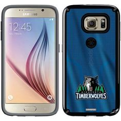 Minnesota Timberwolves Jersey Design on Samsung Galaxy S6 CandyShell Case by Speck