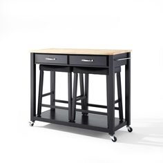 Home Styles Dolly Madison Kitchen Cart at Brookstone—Buy Now!