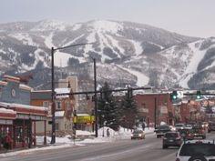 My favorite ski destination so far.   Steamboat, Colorado
