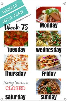 Best Comfort Foods Welcome back to anot Food & Drink Healthy Snacks Nutrition Cocktail Recipes Welcome back to another easy weekly meal plan week Easy Weekly Meals, Frugal Meals, Freezer Meals, Family Meal Planning, Budget Meal Planning, Planning Board, Family Fresh Meals, Easy Family Dinners, Fast Dinners