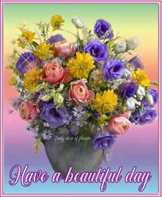 A Beautiful Bowl of Flowers. Beautiful Flower Arrangements, Floral Arrangements, Fresh Flowers, Beautiful Flowers, Deco Floral, Floral Bouquets, Artificial Flowers, Flower Designs, Flower Art