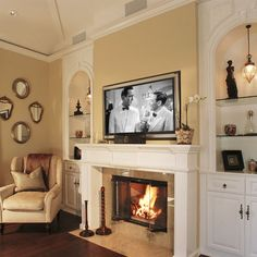 Decorating Ideas For Small Living Room With Fireplace And Tv On