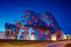 Architecture Cleveland Lou Ruvo Center for Brain Health Building by Frank Gehry