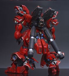 GUNDAM GUY: MG 1/100 Sazabi Ver Ka [Full Open Hatch] - Customized Build