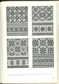 "Фотографии Вязание. Жаккард - ""Зимняя радуга"" – 17 альбомов Double Knitting Patterns, Fair Isle Knitting Patterns, Fair Isle Pattern, Knitting Charts, Knitting Stitches, Knitting Designs, Blackwork, Cross Stitch Borders, Cross Stitch Patterns"