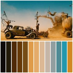 Cinema Colours, Mad Max Fury Road, Film, Movies, Movie Posters, Color Palettes, Collection, Instagram, Random