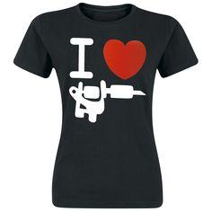 I Love Tattoo - T-shirt from EMP