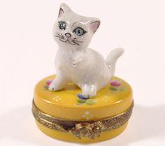 Kitten Limoges Box