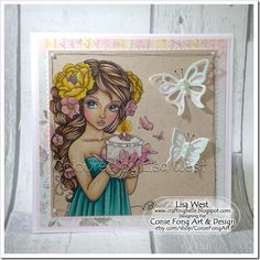 Designed by Lisa West using Butterfly Wishes
