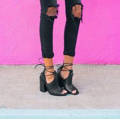 I like the shoe-boots, it's hard to find nice cut out ones that don't look really grungy