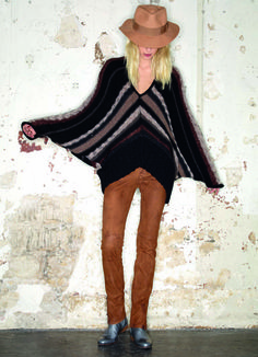 Zadig et Voltaire 2011-2012 Fall Winter Womens Lookbook: Designer Denim Jeans Fashion: Season Collections, Ad Campaigns and Linesheets